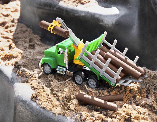 Micro Holztransporter