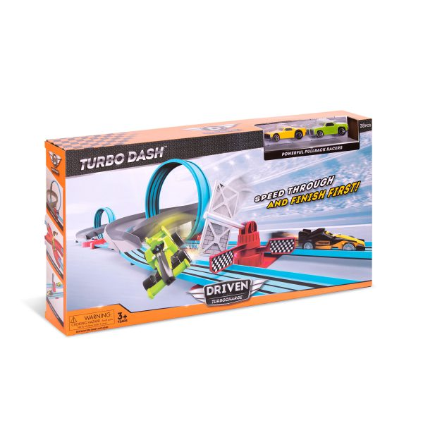 Turbocharge Turbo Dash Rennstrecke