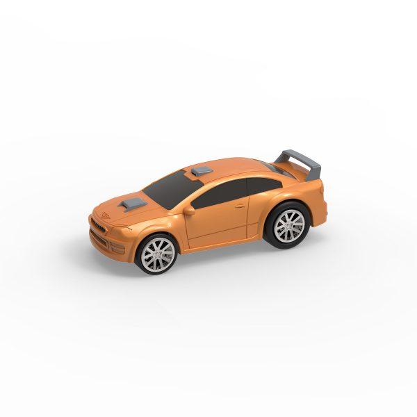 Turbocharge Aufzieh-Fahrzeuge - 4-er Set