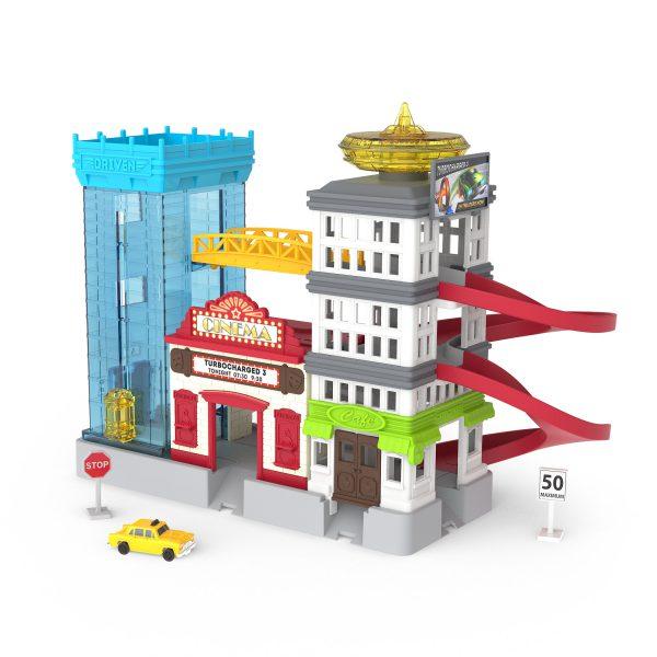 Pocket Big City Cruisin Parkhaus Set