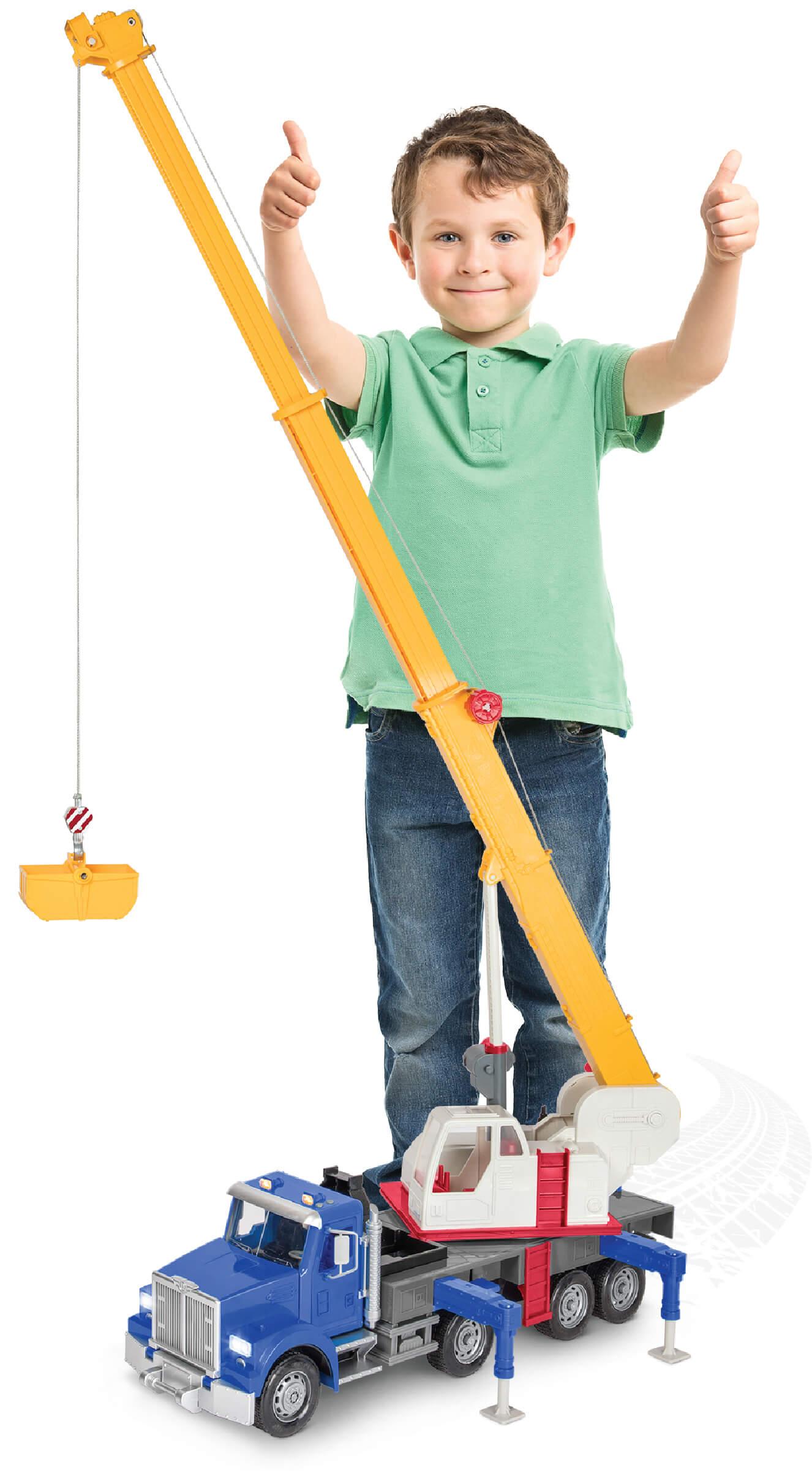 Jumbo crane truck updraft pre smush original
